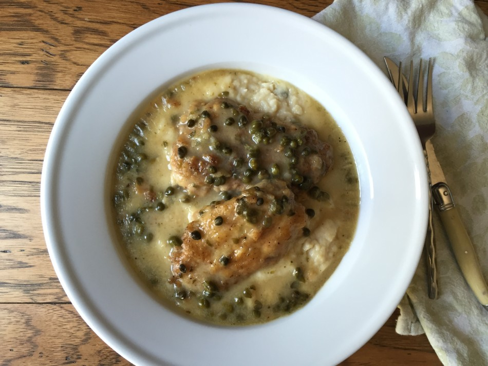 fromjessicaskitchen-chicken-piccata-cauliflower-garlic-mash