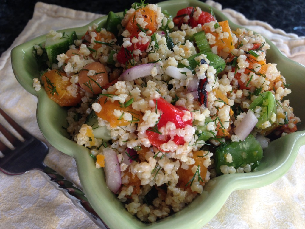 Easy Millet Salad Recipe