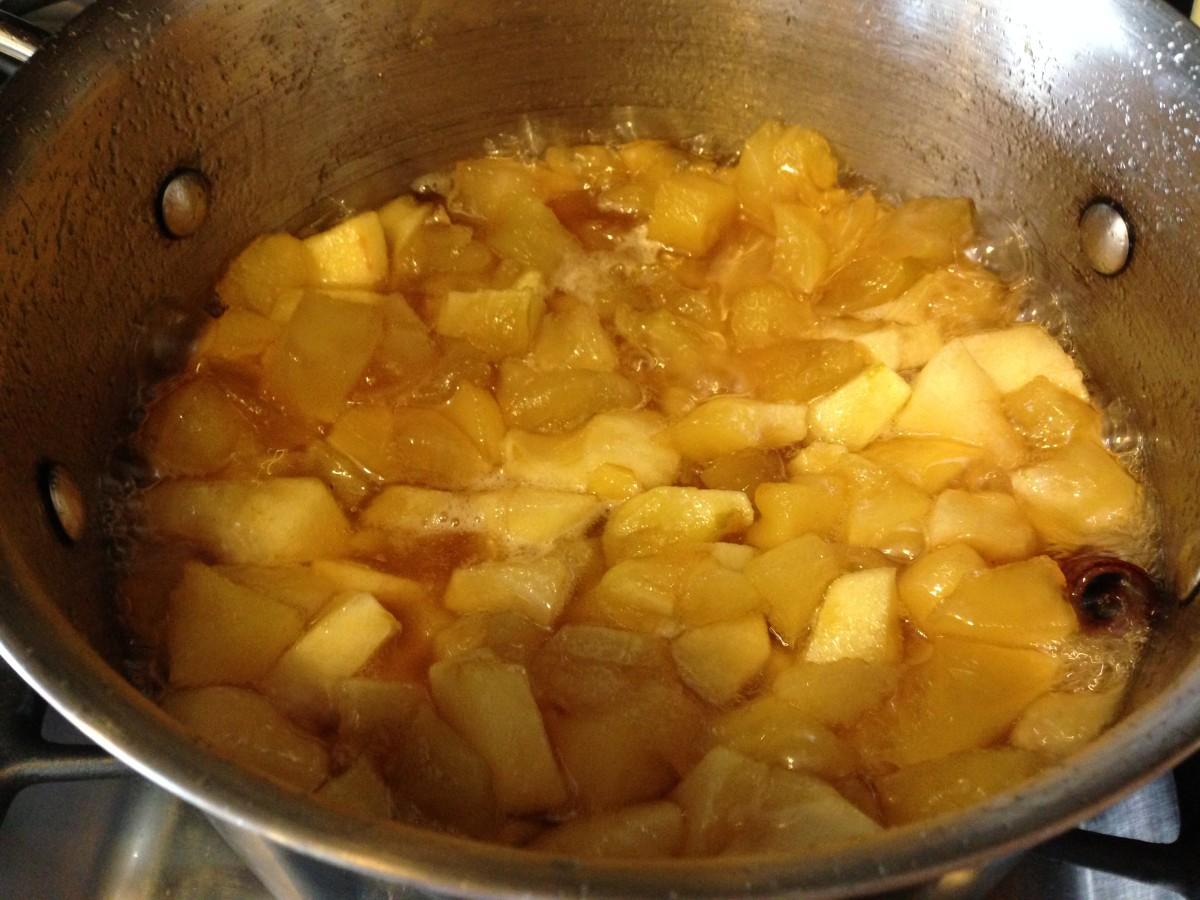 homemade apple butter gluten free vegan from jessica's kitchen