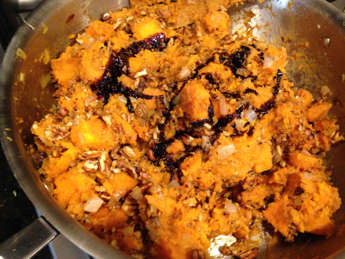 sweet potato casserole gluten free dairy free vegan - From Jessica's Kitchen