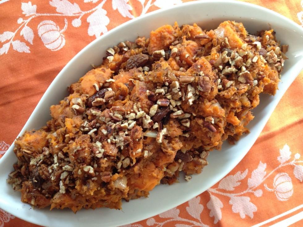 sweet potato casserole gluten free dairy free vegan - From Jessica's Kitchen