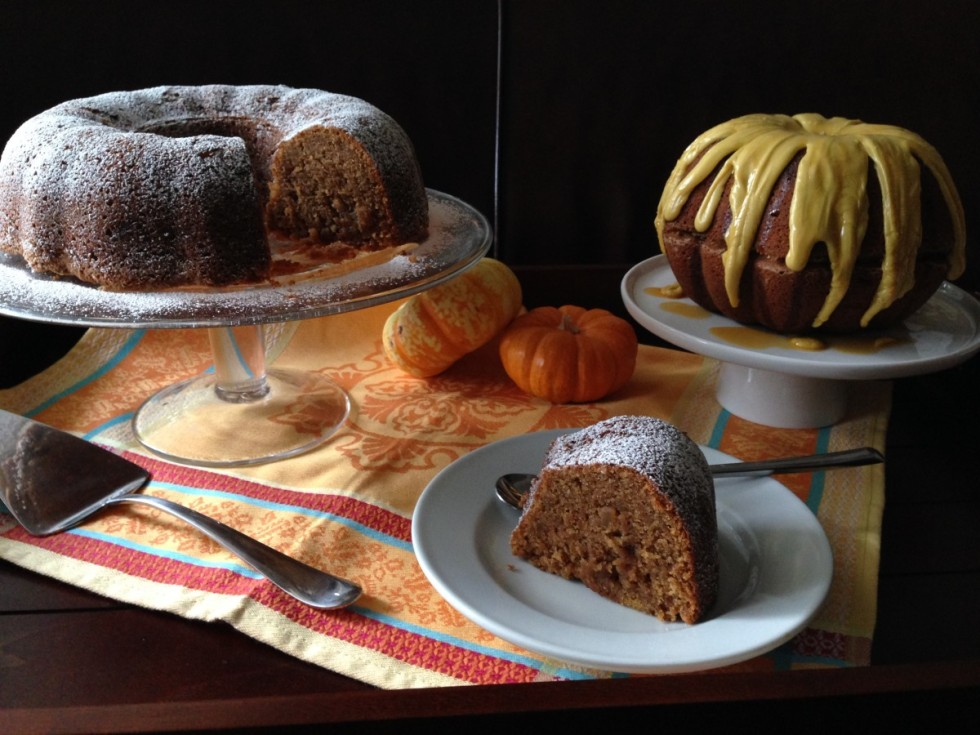 spiced pumpkin cake williams sonoma adapted recipe gluten free, dairy free, soy free thanksgiving recipe
