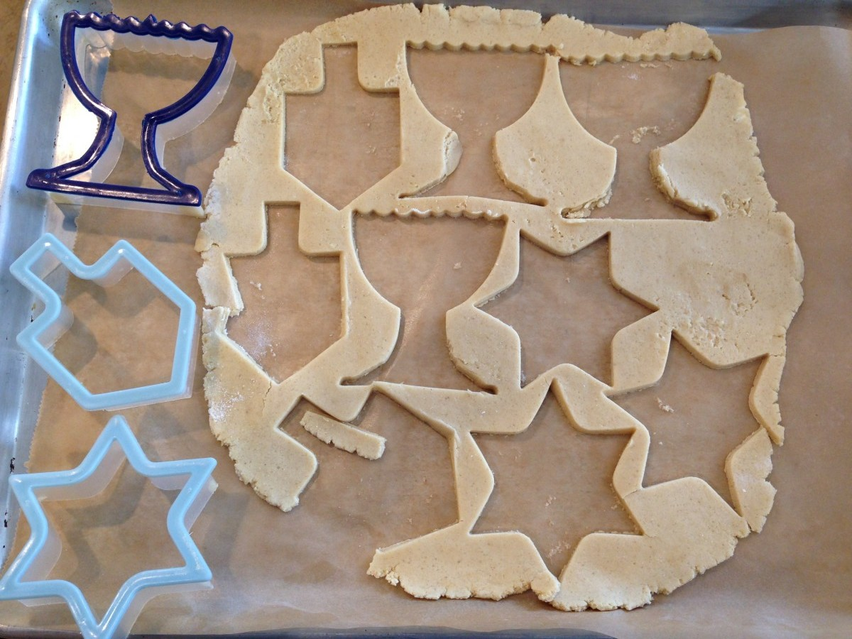 chanukah sugar cookies gluten free soy free vegan allergen free cookies From Jessica's Kitchen