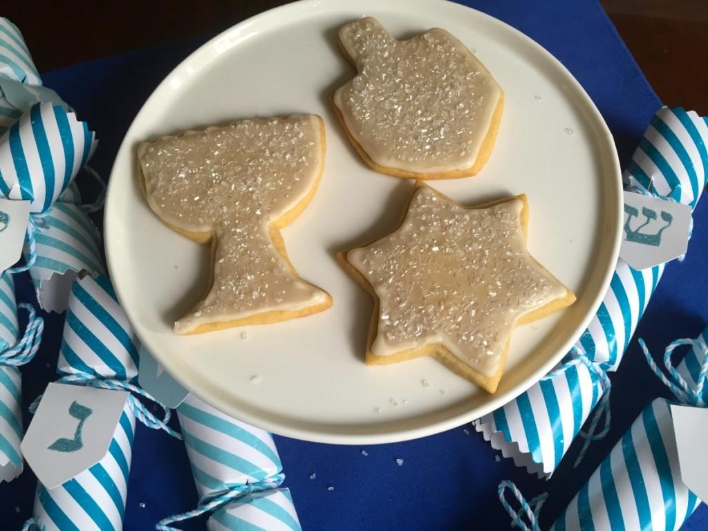 Chanukah Sugar Cookies (gluten free, dairy free, egg free, soy free, vegan)