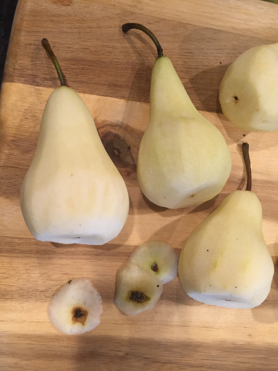 poached pears gluten free dairy free vegan From Jessica's Kitchen blog
