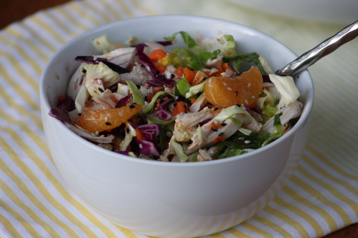 Gluten free dairy free soy free Chinese chicken salad