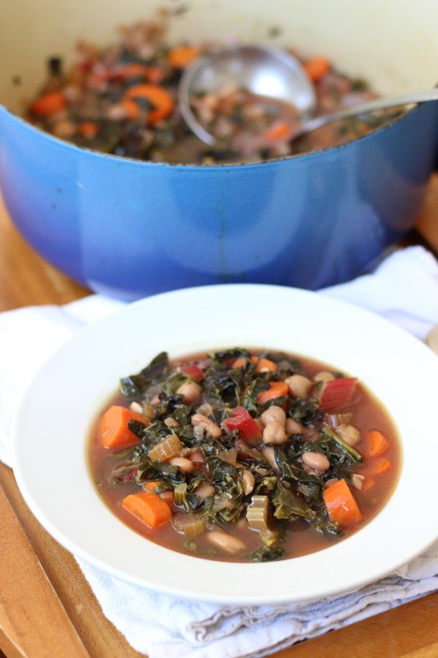 hearty greens vegetable soup gluten free dairy free soy free vegan