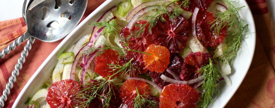 blood orange fennel salad gluten free paleo vegan - fromjessicaskitchen.com