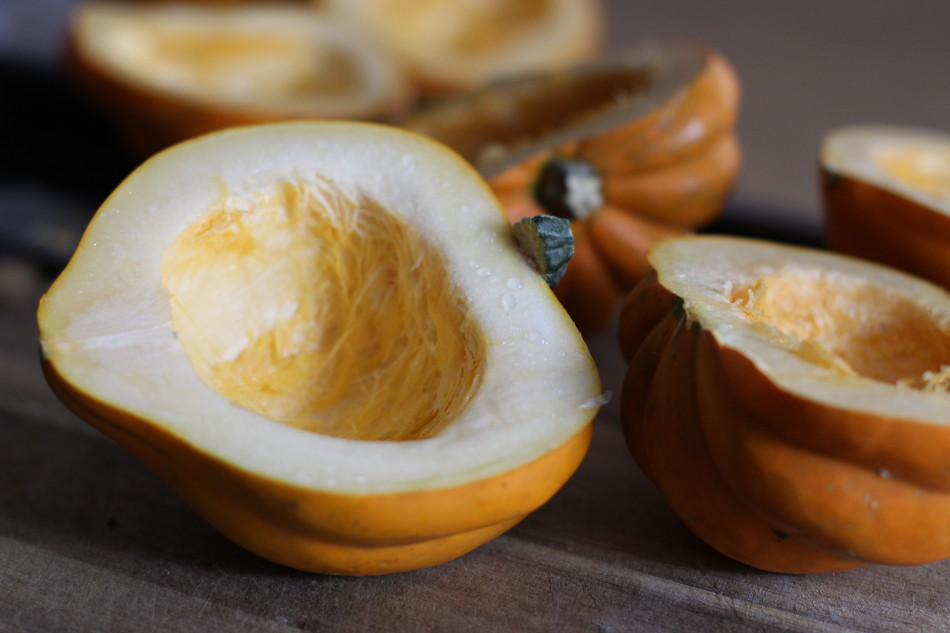 gluten free vegan butternut squash with pumpkin seeds