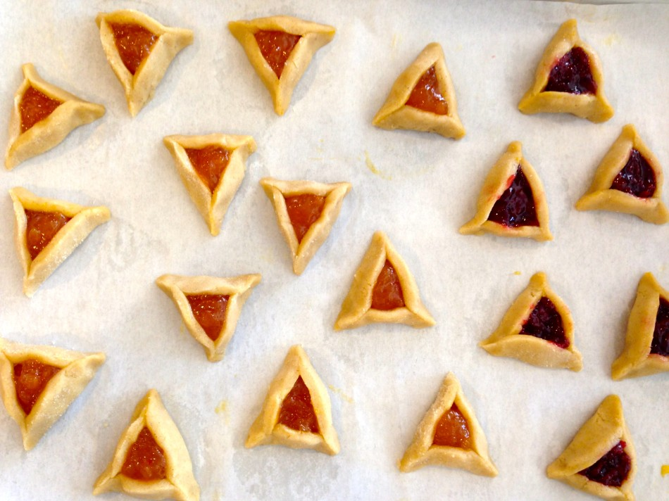 gluten free egg free dairy free vegan purim hamentashen cookies