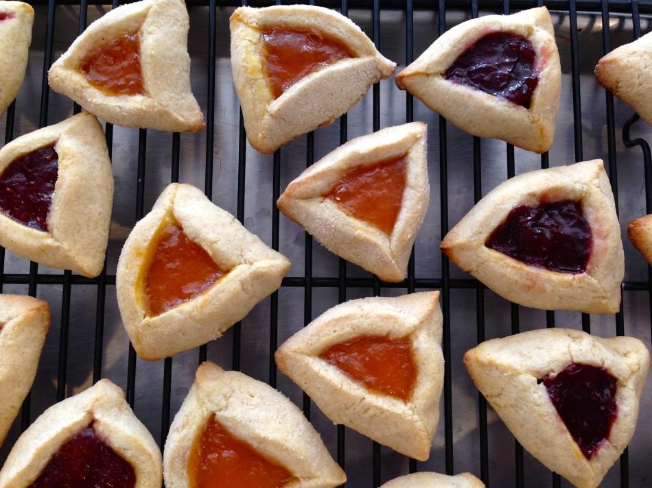 Jam Filled Purim Hamantashen Cookies {gluten free, dairy free, soy free, vegan}