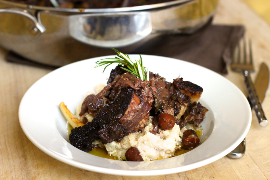 braised beef short ribs ad hoc recipe feature