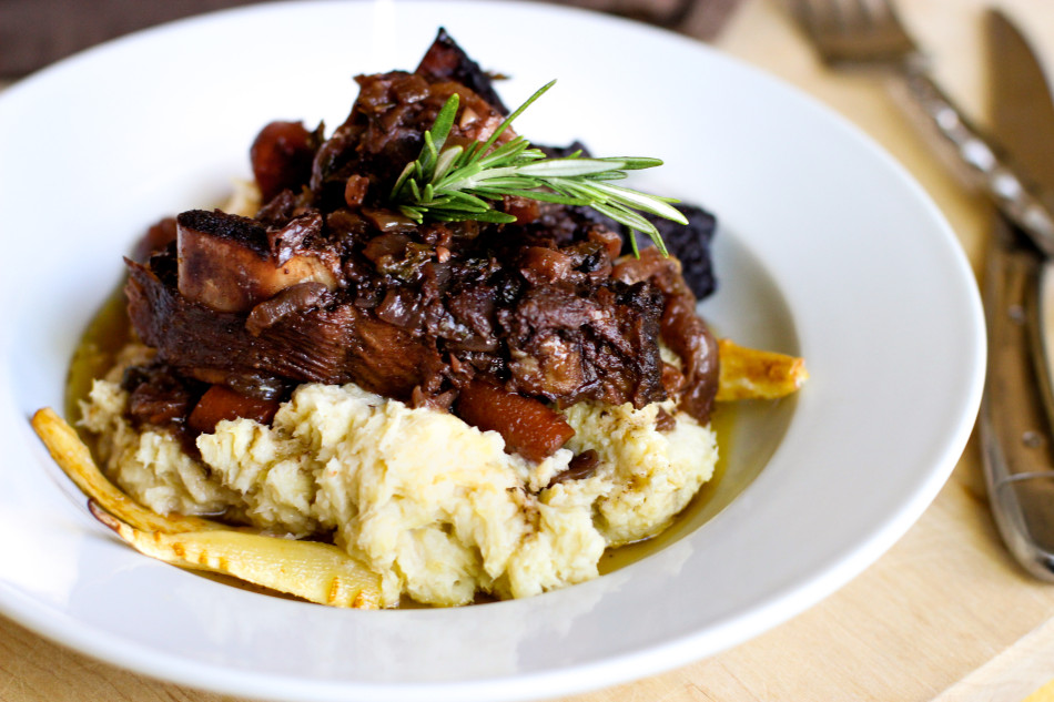 Braised Beef Short Ribs + Parsnip Puree, an adapted Ad Hoc ...