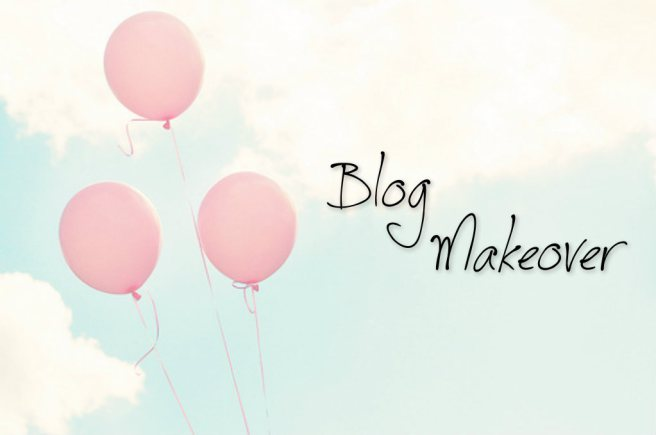 Blog is getting a make-over!