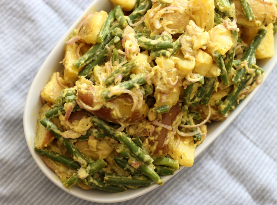 Potato Green Bean Salad {gluten free, dairy free, soy free, vegan}