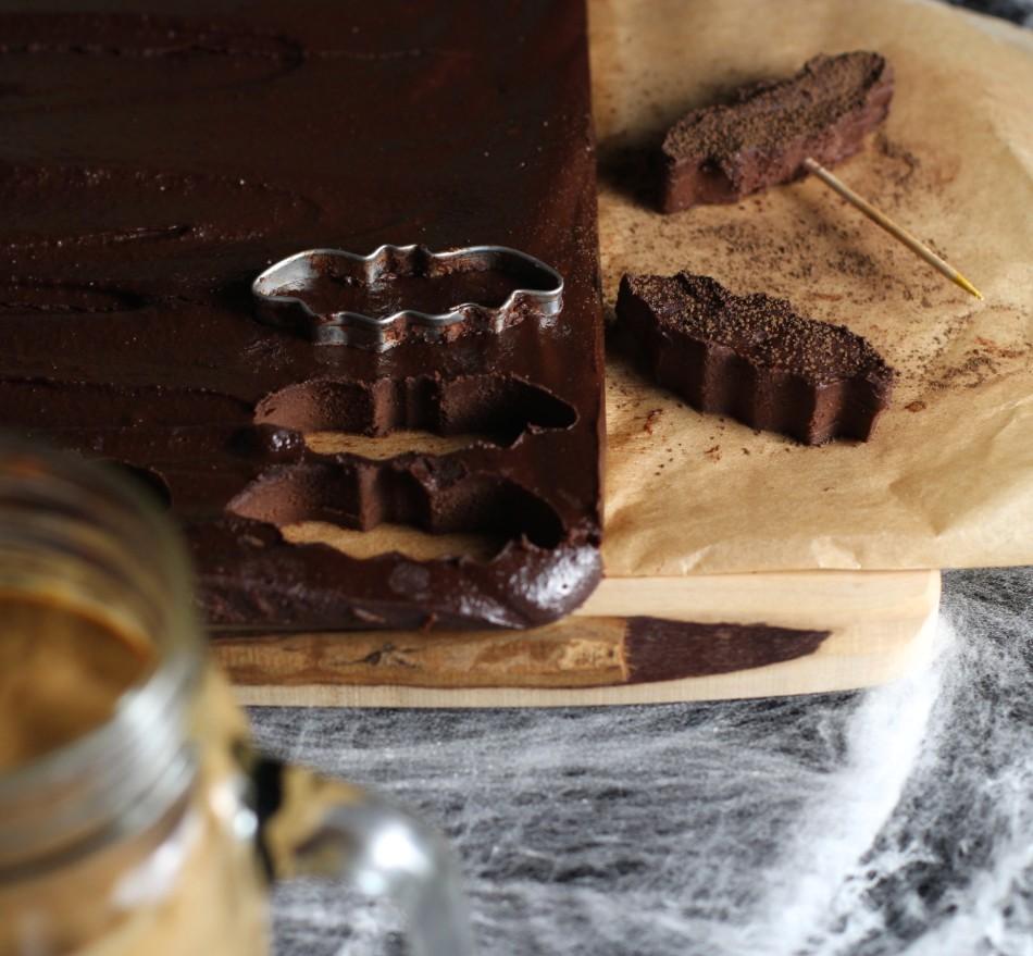 chocolate-fudge-dairy-free-gluten-free-pumpkin-brownie-milkshakes-gluten-free-dairy-free-soy-free-halloween-theme-snack