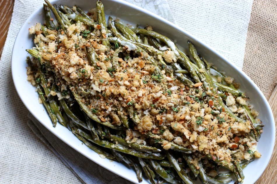 Herbed Green Bean Casserole Recipes — Dishmaps