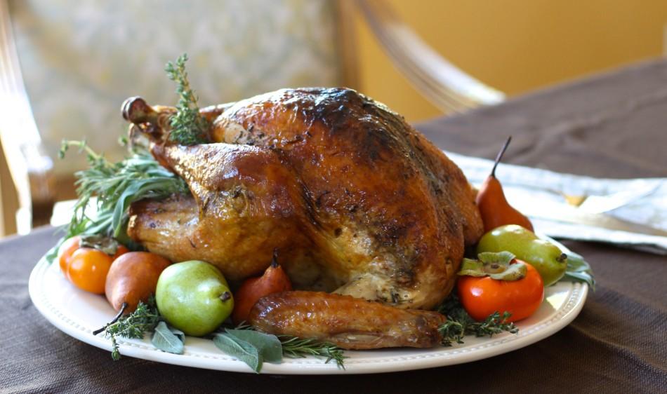 Herbed Roast Turkey and Gravy