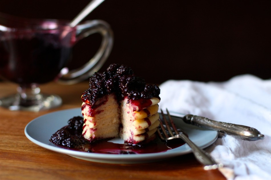 baked-gluten-free-soy-free-vegan-lemon-pancakes-blackberry-sauce-from-jessicas-kitchen