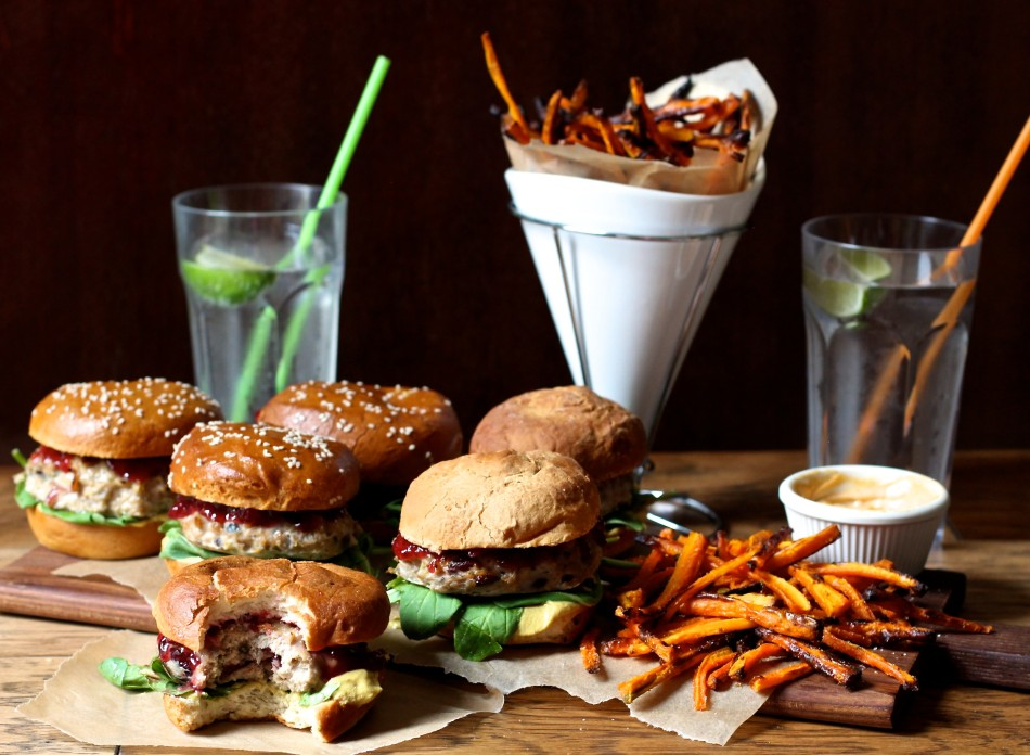 turkey-burgers-carrot-fries-gluten-free-dairy-free-soy-free