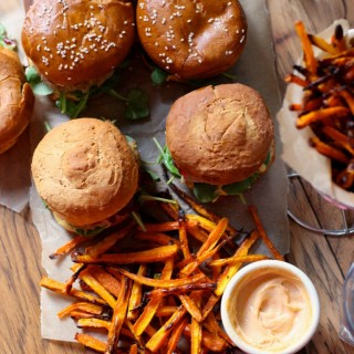 turkey-burgers-carrot-fries-gluten-free-dairy-free-soy-free-2