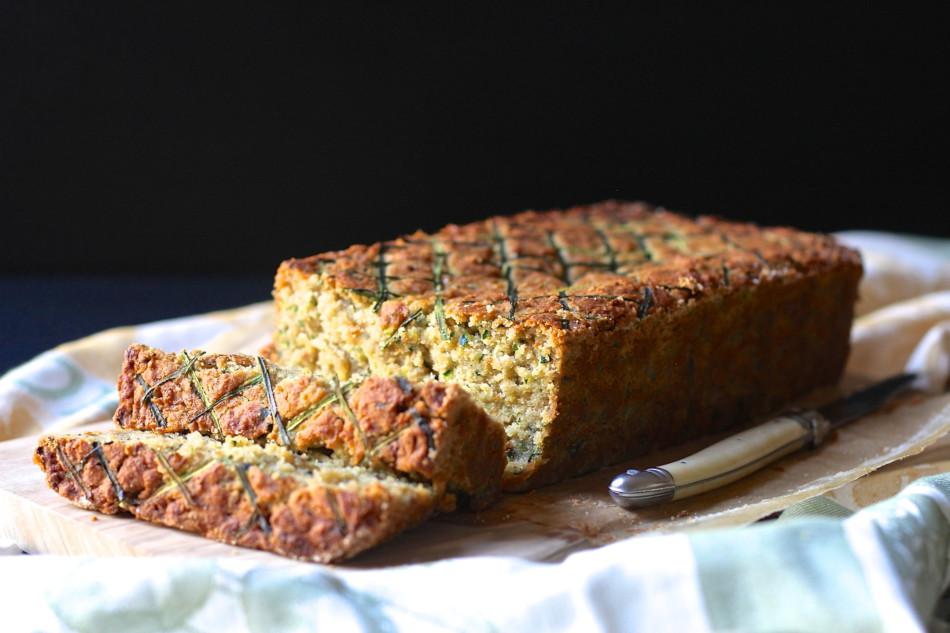 Zucchini Loaf (gluten free, egg free, soy free, vegan)