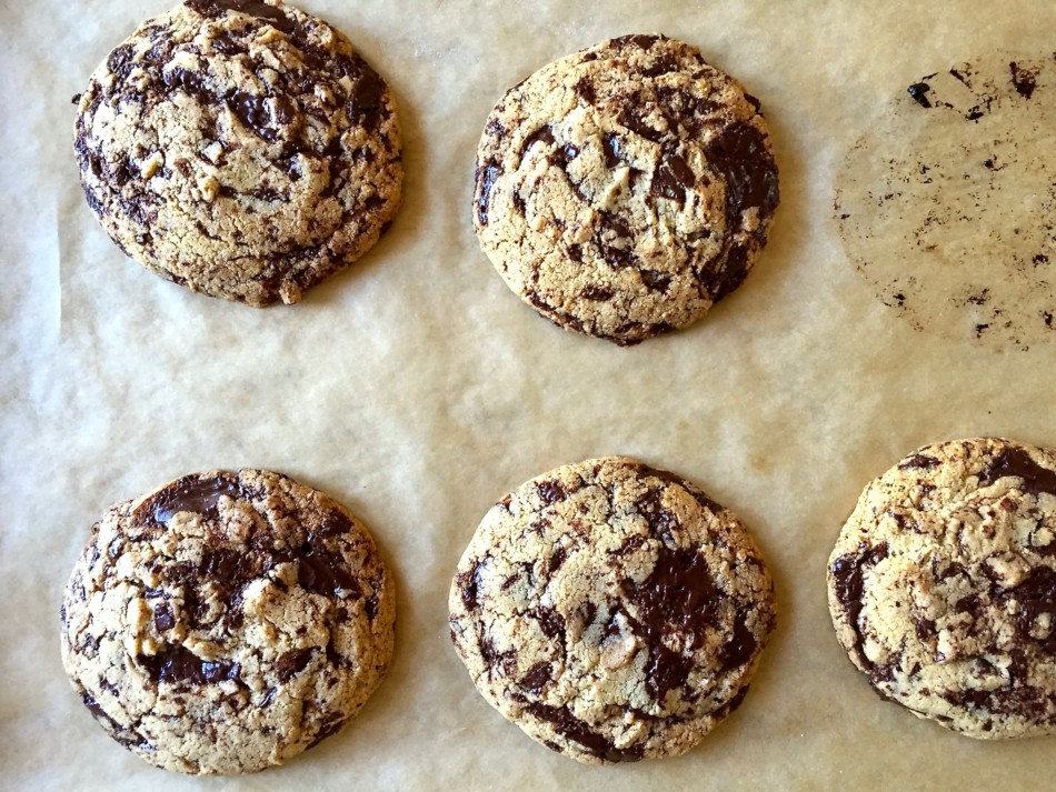 Tahini Chocolate Chip Cookie (gluten free, dairy free, nut free, soy free, vegan)