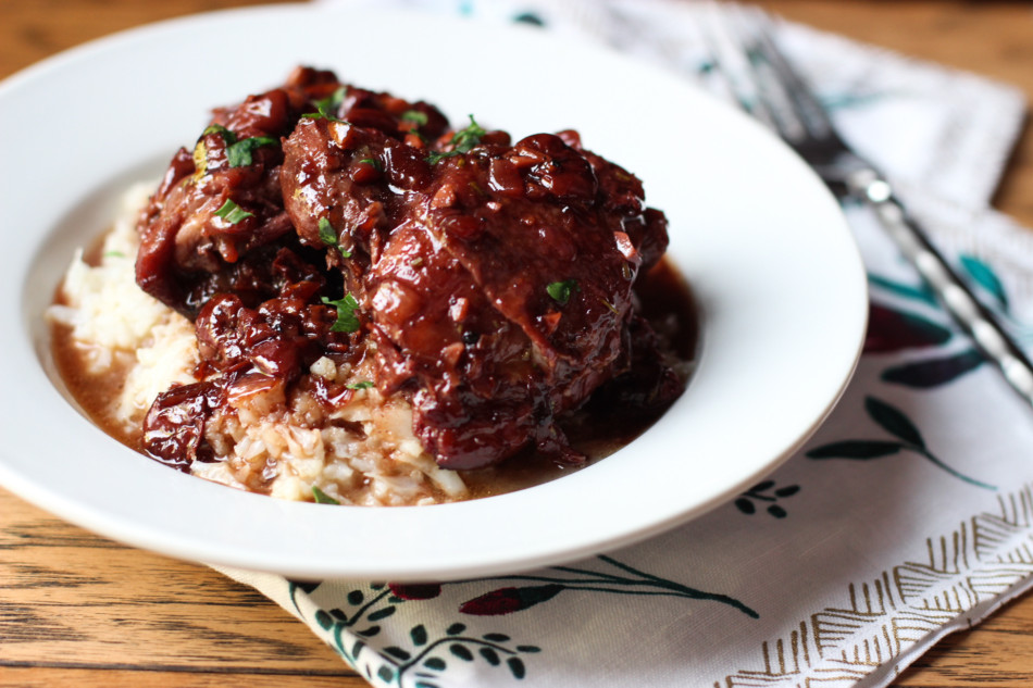 braised-chicken-sour-cherries-dinner-recipe-from-jessicas-kitchen-1-of-1